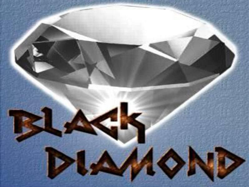 الماس الاسود