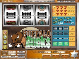 بافلو باكس Buffalo Bucks Slot - Photo