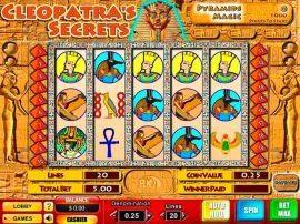 لعبة سلوت أسرار كليوباترا Cleopatra's Secrets Slot - Photo