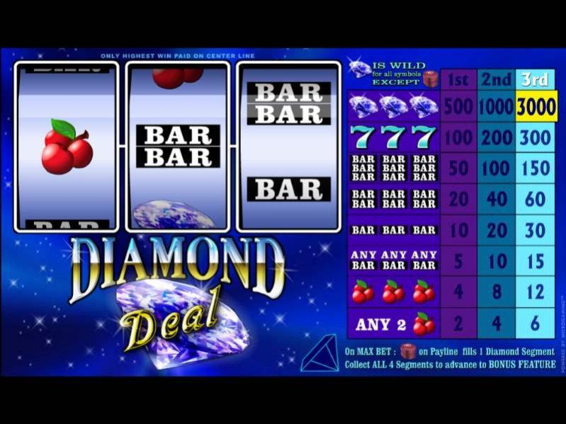 صفقة الماس - سلوتس رائع