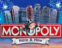 لعبة سلوتس مونوبولي هنا والان Monopoly Here and Now Slot Slot - Photo