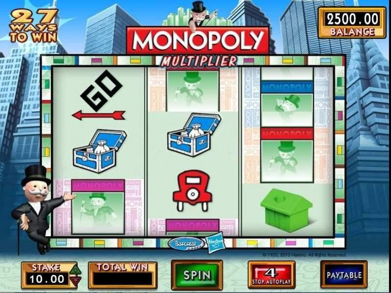 سلوت مضاعفة الثروة Monopoly Multiplier