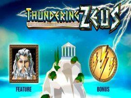 لعبة السلوت ثندرنج زيوس Thundering Zeus Slot - Photo