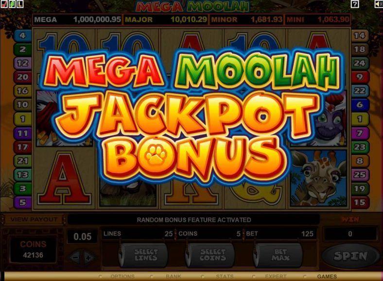 online slots jackpot الجوائز