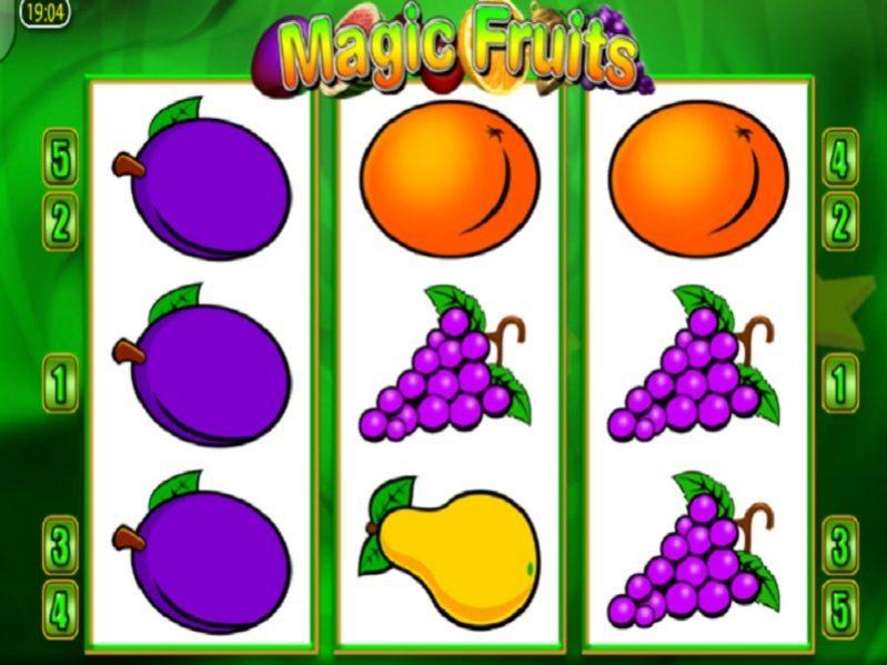 الفاكهة السحرية ماكينة قمار